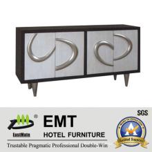 Armário decorativo de mobiliário moderno Star Hotel (EMT-DC01)