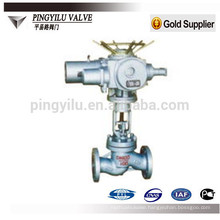 J41Y/H-16C/25/40/64/100 cast steel motorized globe valve
