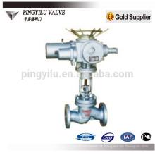 Válvula de globo motorizada de aço fundido J41Y / H-16C / 25/40/64/100