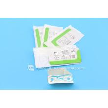 CE FDA ISO 13485 Высокое качество медицинского снабжения с вырезом стежка Хирургический стерильный одноразовый шов