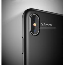 silicone phone case black color for iPhone X