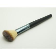 Venta al por mayor Negro Angled polvo sintético cosméticos cepillo