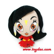Dac Cartoon Prinzessin gefüllte Puppe