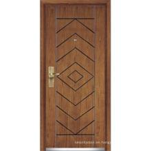 Puerta exterior de madera (YF-G9013)