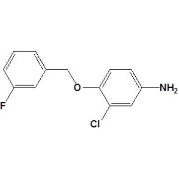 3-Cloro-4- (3-fluorobenciloxi) anilina Nº CAS 202197-26-0
