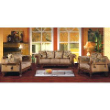 Wohnzimmermöbel mit Holz-Sofa-Set (D92)