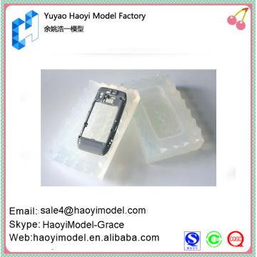 Chine prototype de téléphone portable moule en silicone personnalisé hotsale moule en caoutchouc de silicone