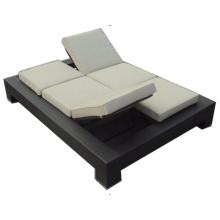 Doble plegable sillas moderna Chaise tumbona