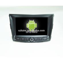 Android 6.0-DVD-Spieler für car1024 * 600 androider Auto-DVD-Spieler für Ssangyong tivoly + Soem + Viererkabelkern!