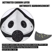 Fashion Anti Pm2.5 Cycling Cotton Half Face Mask