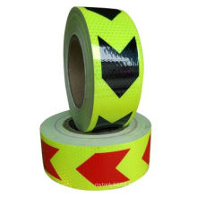 Various Color Arrow Safety Product Reflective Tape for Road Warning