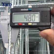 Dernière produit 4X4 / 6x6 / 10x10 béton armé galvanisé treillis métallique soudé