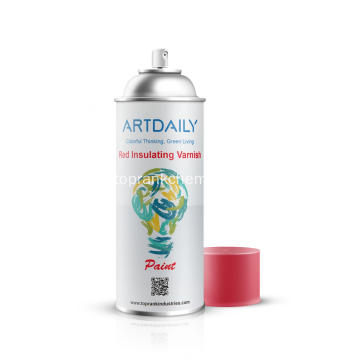 Spray de barniz aislante