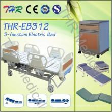 Lit électrique à trois fonctions de l'hôpital