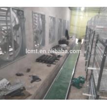 Umweltkontrolltyp-Geflügel-Ausrüstung mit Stahlkonstruktions-Haus