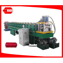Color Steel Sheet Roof Ridge Cap Tile Roll Forming Machine (YX35-400)