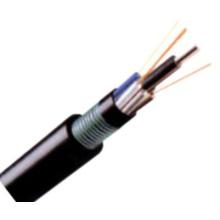 Entierro directo al aire libre GYFTY53 Cable de fibra óptica para la comunicación