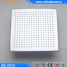 Cabezal de ducha de iones de litio, cuadrado, latón, beige, sanitario Ware Ware