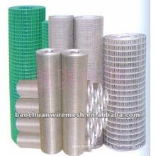Paneles de malla de alambre de PVC Baochuan con curvas