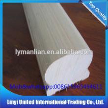 Venta caliente barandilla de roble rojo antiguo tallado balaustrada de madera Linyi Baiyi Madera