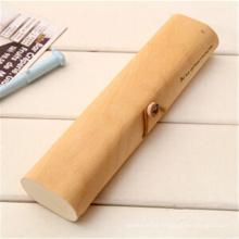 Estuches de lápices baratos para niños de madera de alta capacidad