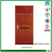 Фанда МДФ ПВХ межкомнатные двери с покрытием номер