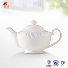 Usine directe en gros de haute qualité pot de thé en porcelaine