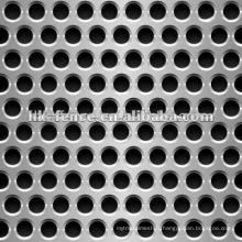 Feuilles perforées d'acier inoxydable / maille perforée en métal / feuille perforée en métal