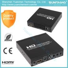Convertidor 1080P HD Audio Video HDMI para reproductor DVD HD