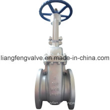 Rising Stem Flange End Gate Valve com aço carbono RF