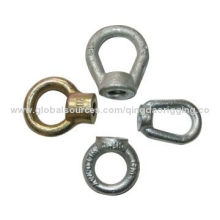 Forged steel oval eye nut