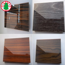 China for China UV MDF,UV MDF Board,Indoor Used UV MDF Manufacturer and Supplier High glossy wooden UV melamine MDF board supply to Malaysia Importers