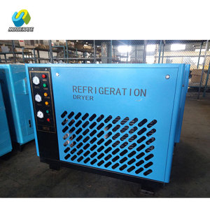 Industrial electric refrigerated compressed air dryer