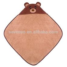 Serviette à capuchon infantile organique - Cubby, coton 100% organique, cadeau de douche de bébé pour les filles et les garçons infantiles de Toddle, gardant bébé chaud