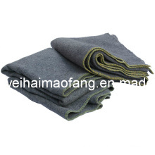10%Wool/90%Polyester Blended Relief Soforthilfe Decke