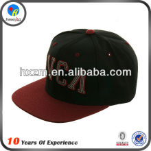 fashion original mens 100% acrylic snapback cap