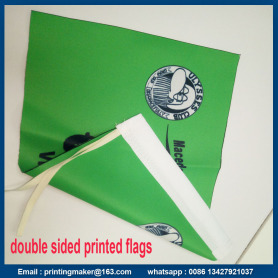 Double Flag Polyester Fabric Flag Printing