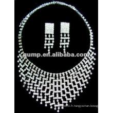 Dernier ensemble de bijoux de mariée (GWJ12-478)