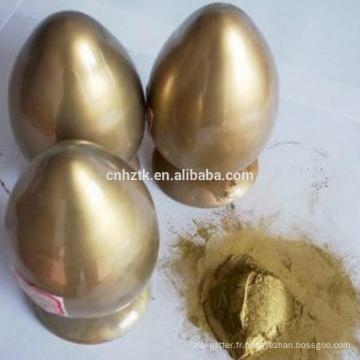 Bronze doré en poudre pour les encres, PEINTURES.COSMETICS ETC.
