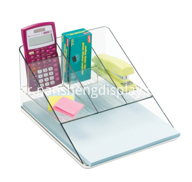 Acrylic Office Supplies Organizer