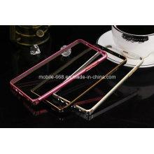 Pare-chocs en métal en aluminium de cas de téléphone portable pour Samsung Galaxy A7