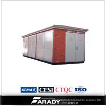 10 ans d'expérience sous-station électrique fabricant de kiosques chinois kiosque extérieur