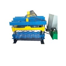 Excellent circular arc glazed tile roll forming machinery