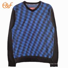 Cashmere V Neck Pullover Sweater Designs For Men