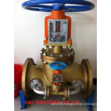 Bypass Oxygen Brass Globe Valve