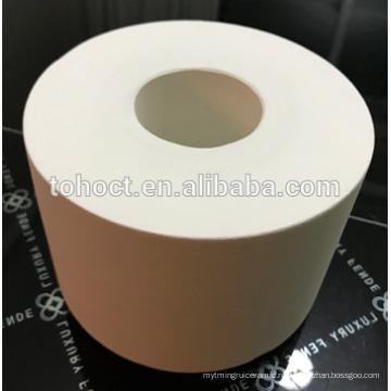 Большой диаметр калибра кордиерит муллит керамические кольца трубы ролика