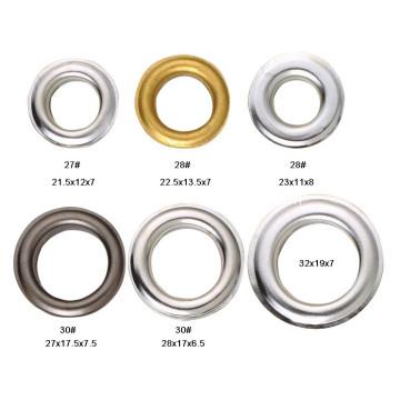 metal eyelets grommet for leather crafts with nickel. Black Bedroom Furniture Sets. Home Design Ideas