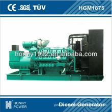 1706KVA Googol 60Hzpower generation, HGM1875, 1800RPM