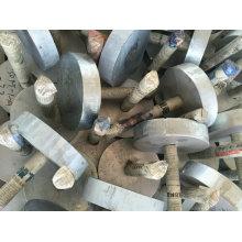 Pièces incorporées de bâtiment en métal d'OEM pour l'utilisation de Conturction