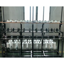 Высокоскоростная вязальная машина с эластичной веревкой для ушной петли
